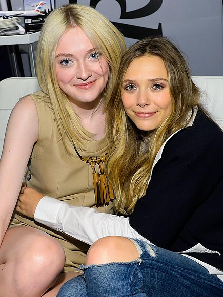 DAKOTA & ELIZABETH photo | Dakota Fanning, Elizabeth Olsen