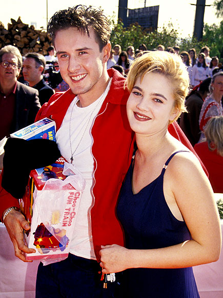Who did Drew Barrymore call her boyfriend before she called him a costar?