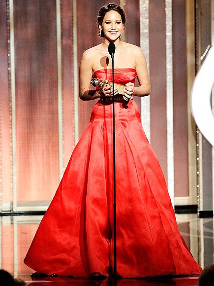WINNING MOMENT photo | Jennifer Lawrence