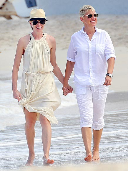 WHITE PARTY photo | Ellen DeGeneres