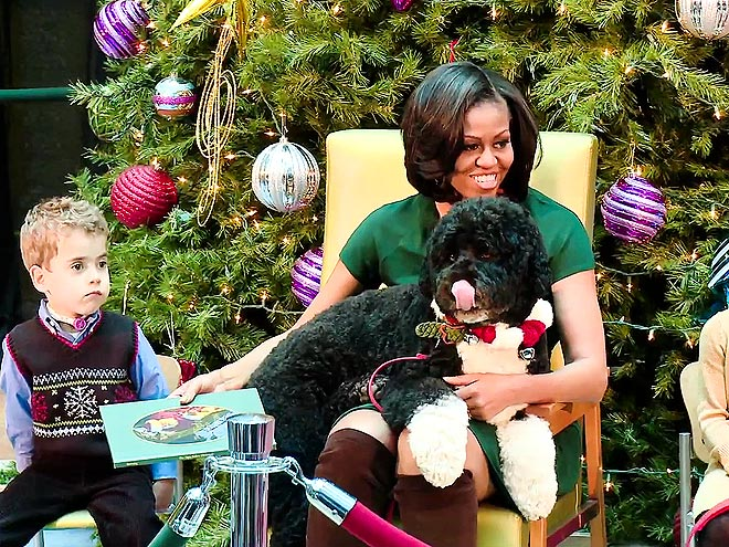 Lapping It Up photo | Michelle Obama