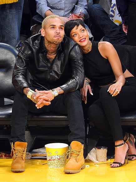 Courting Couple photo | Chris Brown, Rihanna