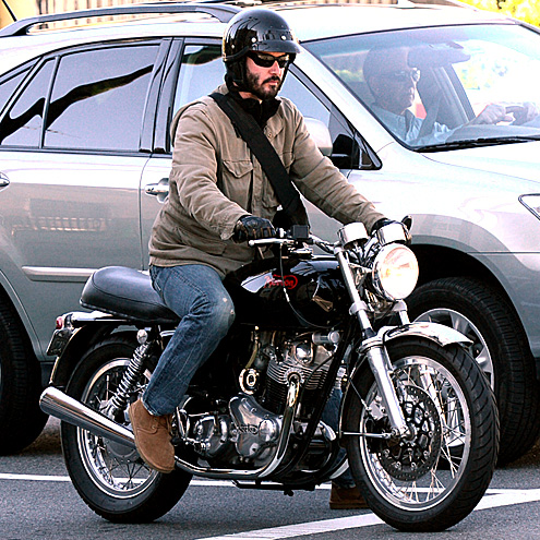 HOG WILD photo | Keanu Reeves