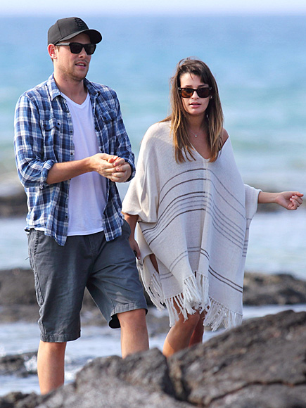 SHORE THING photo   Cory Monteith, Lea Michele
