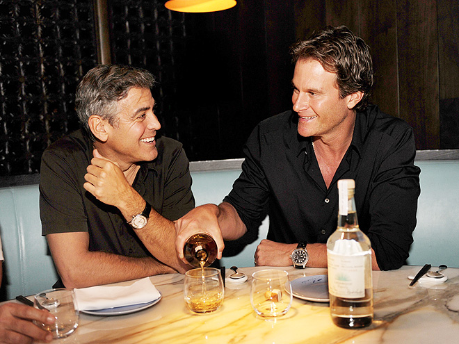 GLASS ACTS photo | George Clooney, Randy Gerber