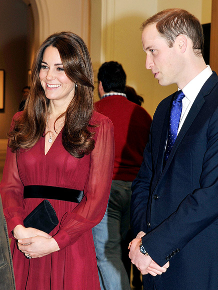 A BRUSH WITH FAME photo | Kate Middleton, Prince William