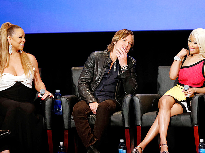 TALKING POINT photo | Keith Urban, Mariah Carey, Nicki Minaj