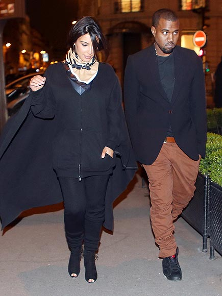 COORDINATED COUPLE photo | Kanye West, Kim Kardashian