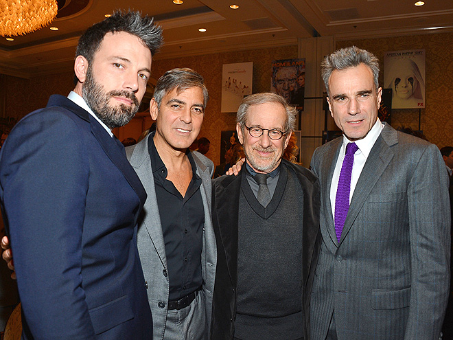 HONOR ROLL photo | Ben Affleck, Daniel Day-Lewis, George Clooney, Steven Spielberg