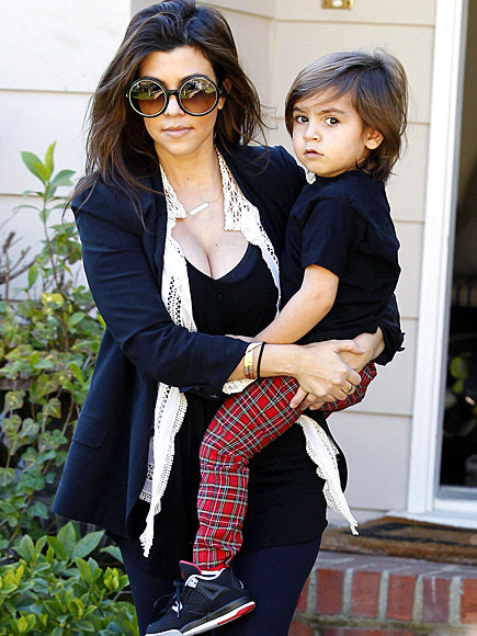 SON-NY DAY photo | Kourtney Kardashian