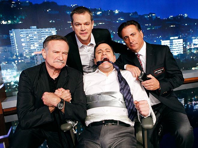 GAG ORDER photo | Andy Garcia, Jimmy Kimmel, Matt Damon, Robin Williams