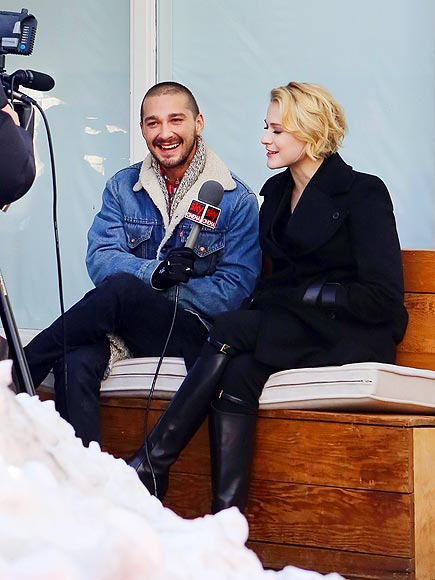 TALKING POINTS photo | Evan Rachel Wood, Shia LaBeouf