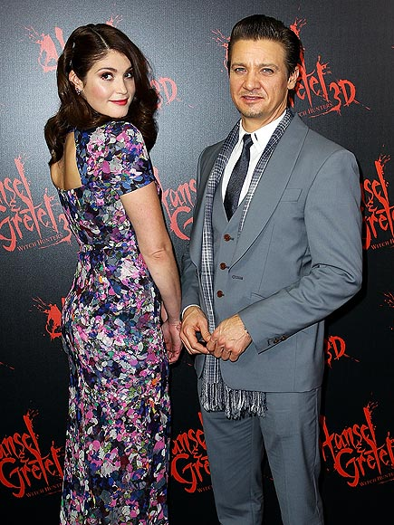ON THE &#39;HUNT&#39; photo | Gemma Arterton, Jeremy Renner
