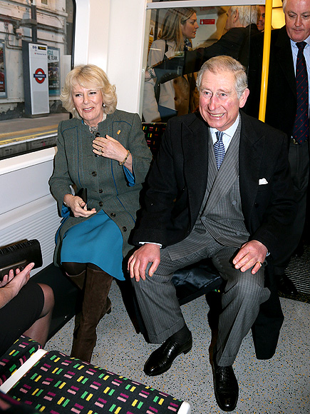 'TRAIN'-ING DAY photo | Camilla Parker Bowles, Prince Charles