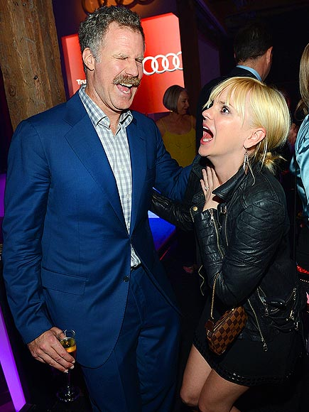 New Awwww-lins photo | Anna Faris, Will Ferrell