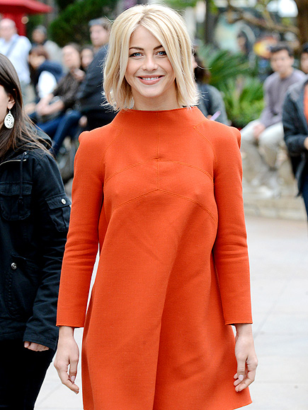 ORANGE YOU GLAD? photo | Julianne Hough