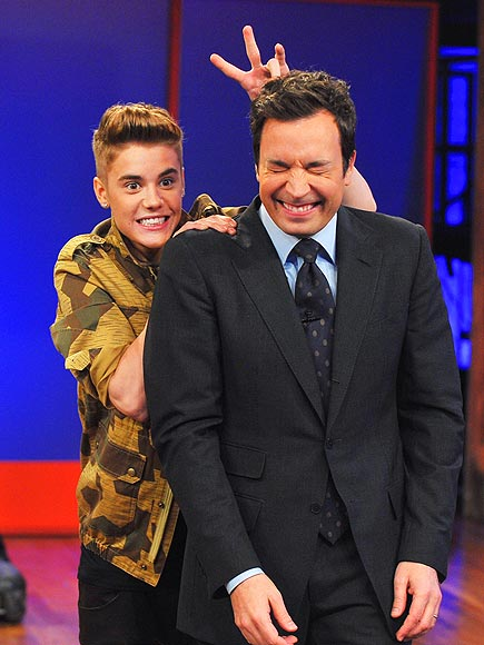 HOP TO IT photo | Jimmy Fallon, Justin Bieber