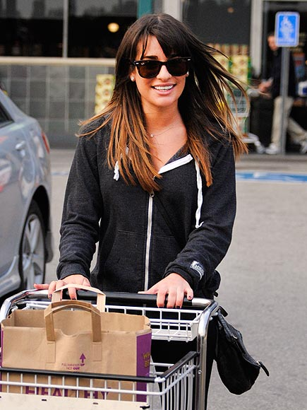 PUSHING FORWARD photo | Lea Michele