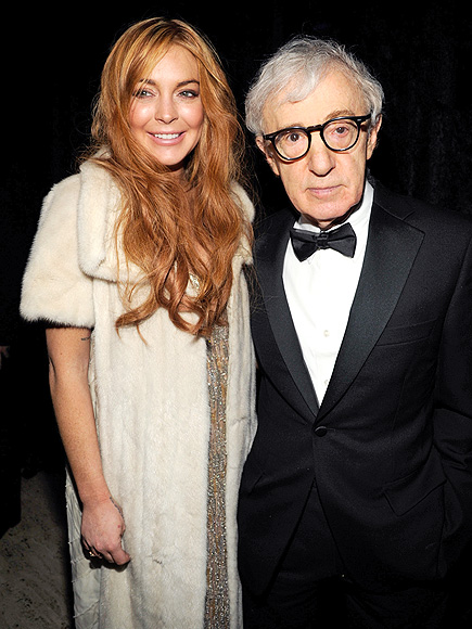 EMPIRE STATE OF MIND photo   Lindsay Lohan, Woody Allen