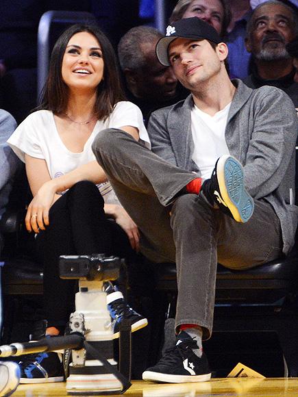GAME ON photo | Ashton Kutcher, Mila Kunis