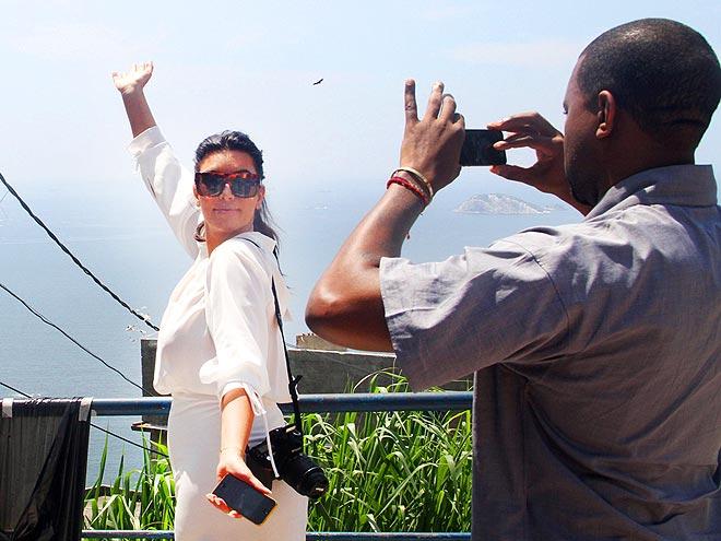 FOREIGN FLAIR photo   Kanye West, Kim Kardashian
