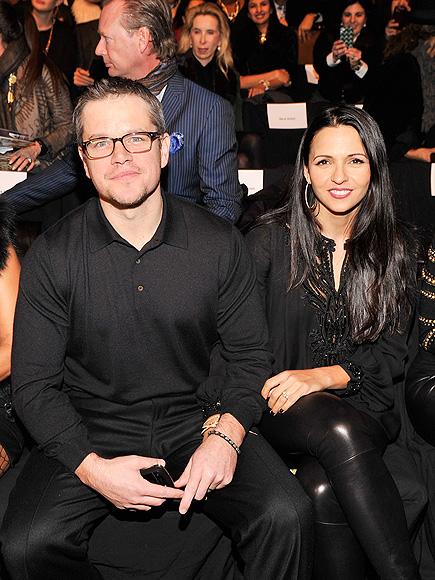 FRONT AND CENTER photo | Matt Damon