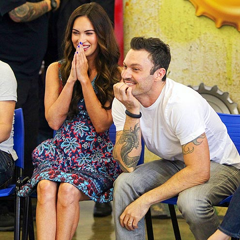 HAPPY FACES photo | Brian Austin Green, Megan Fox