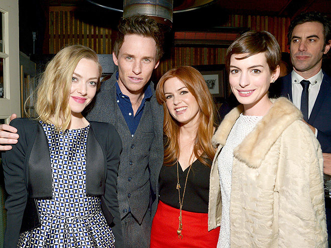 ALL FOUR ONE photo | Amanda Seyfried, Anne Hathaway, Eddie Redmayne, Isla Fisher