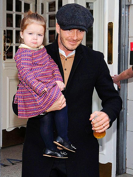 FUNNY GIRL photo | David Beckham