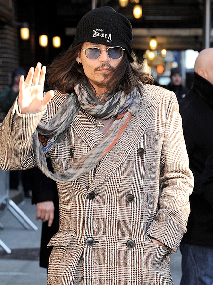 WARM-UP ACT photo | Johnny Depp