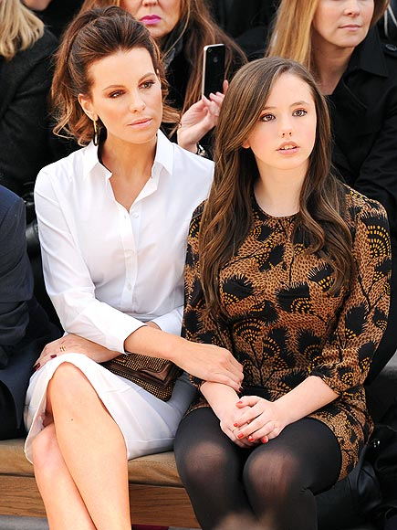 FASHIONABLE FAMILY photo | Kate Beckinsale