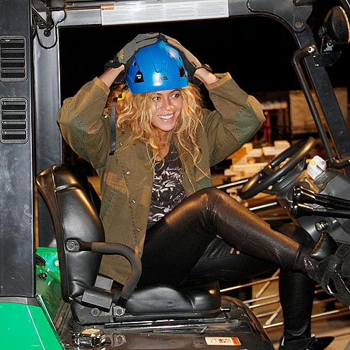 HARD (HAT) TIMES   photo | Beyonce Knowles