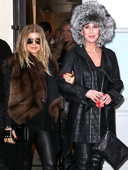 UN-FUR-GETTABLE APPEARANCE photo | Fergie, Cher