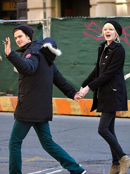 WALK THIS WAY photo | Andrew Garfield, Emma Stone