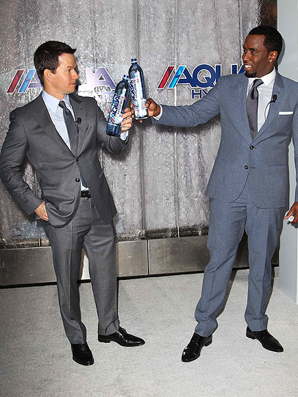 BOTTLE SERVICE photo | Mark Wahlberg, Sean P. Diddy Combs