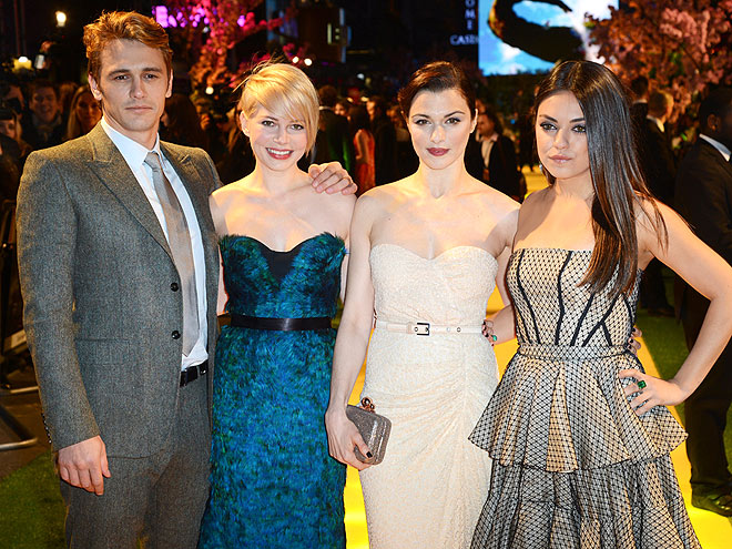 ALL 'FOUR' ONE photo | James Franco, Michelle Williams, Mila Kunis, Rachel Weisz