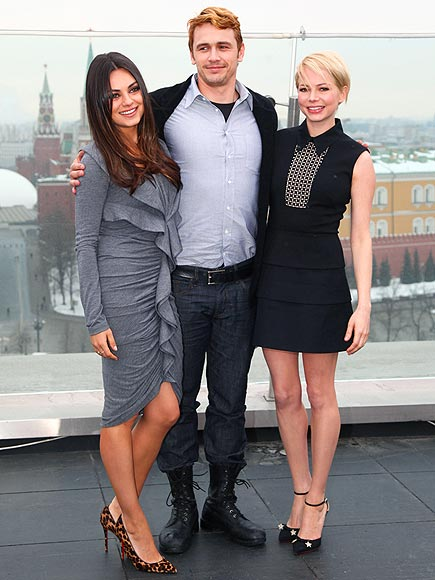 VIEW FROM THE TOP photo | James Franco, Michelle Williams, Mila Kunis
