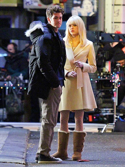 BLONDE AMBITION photo | Andrew Garfield, Emma Stone