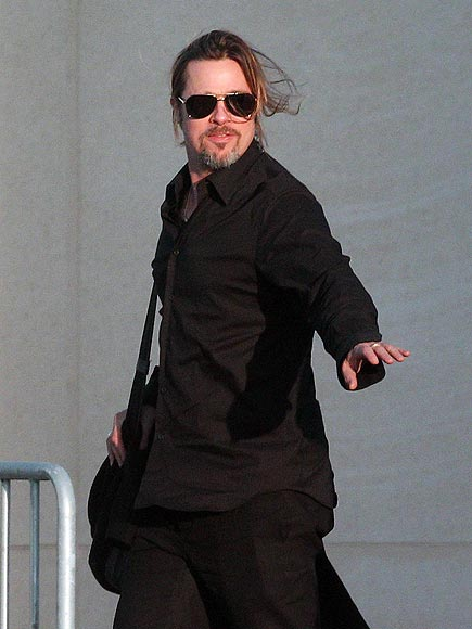 MAN IN BLACK photo | Brad Pitt
