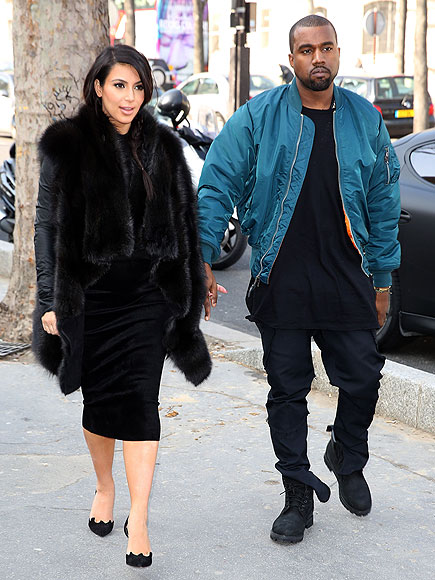 FRENCH CONNECTION photo | Kanye West, Kim Kardashian