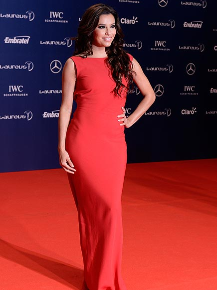 RED ALL OVER photo | Eva Longoria