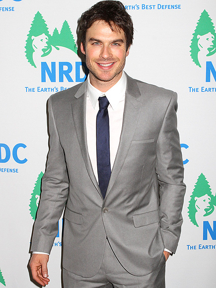 GOING GRAY photo | Ian Somerhalder