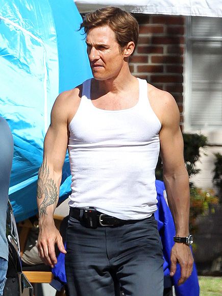 MUSCLE MAN photo | Matthew McConaughey