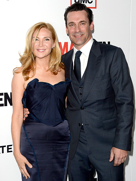 PREMIERE PAIR photo | Jennifer Westfeldt, Jon Hamm