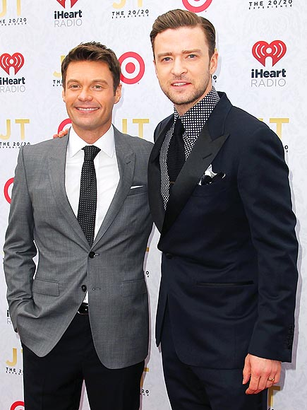 ALL PRESSED UP photo | Justin Timberlake, Ryan Seacrest