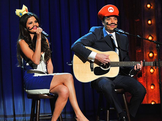 GOOD GAMERS photo | Jimmy Fallon, Selena Gomez