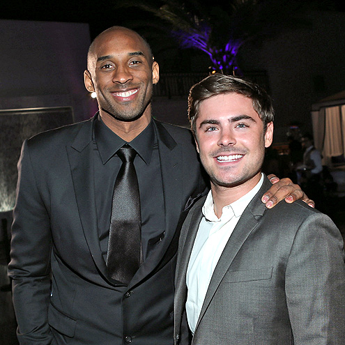 WATCH THIS photo | Kobe Bryant, Zac Efron