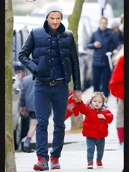 CUTE COUPLE photo | David Beckham