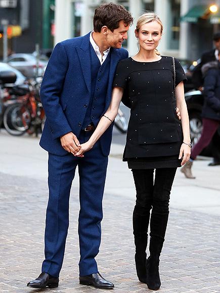 STREET CHIC photo | Diane Kruger, Joshua Jackson