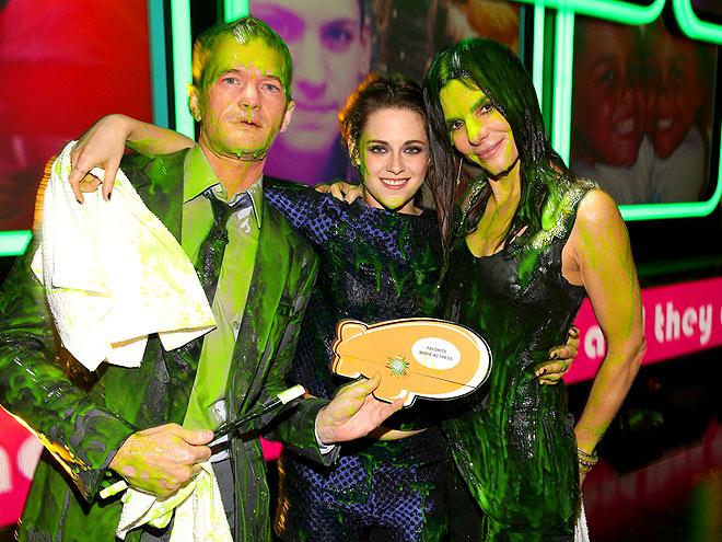 SLIME TIME photo | Kristen Stewart, Neil Patrick Harris, Sandra Bullock